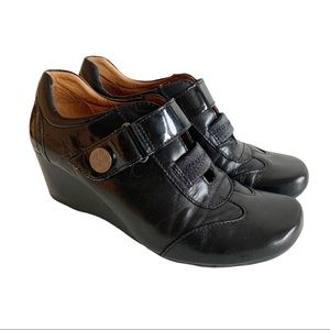 LŌCALE Black Law Wedge Shoes 6.5